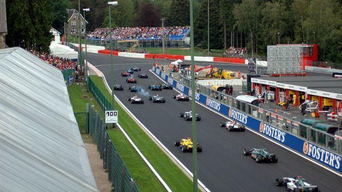 Spa, en Bélgica uno de los epicentros de la Fórmula 1