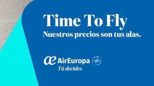 Time to Fly, nueva campaña de Air Europa