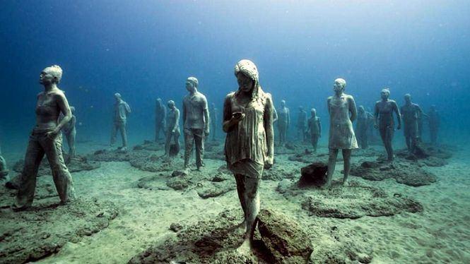 El pueblo subacuático de Lanzarote