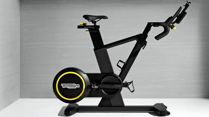 La revolucionaria bicicleta estática de Technogym