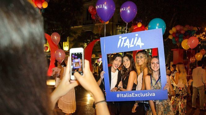 Italia en la Vogue Fashion´s night out Madrid