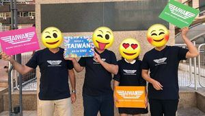 Taiwán recupera con camisetas de Top Gun y pide apoyo para su participación en la ONU