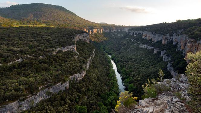 Un documental recoge las zonas más profundas del Cañón del Ebro al noroeste de Burgos
