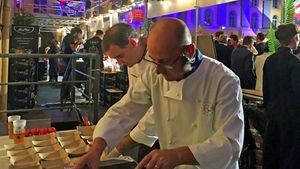 Miguel Angel Mateo y Joaquín Felipe- Lyon Street Food Festival