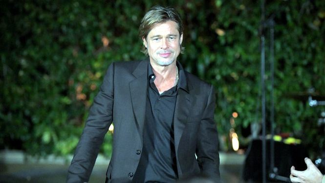 Brad Pitt presente en la cumbre de la marca de relojes Breitling