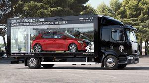 La Ruta 208, un escaparate móvil por Madrid del nuevo Peugeot