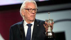 Donald Sutherland medio siglo de interpretación premiado en San Sebastian