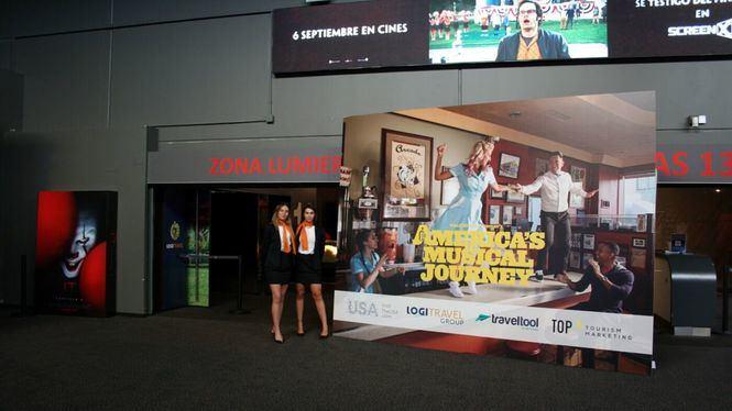 El Grupo Logitravel conecta el sector turístico con Estados Unidos a través del cine
