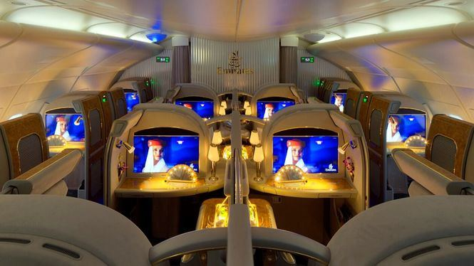 Emirates hace más accesible volar en First Class desde España