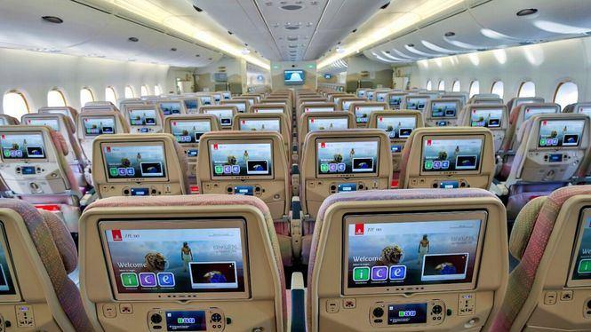 Lo más visto en el sistema de entretenimiento ice de Emirates
