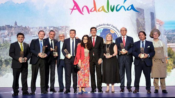 Entrega de los Premios Andalucía del Turismo 2019, en Jerez de la Frontera