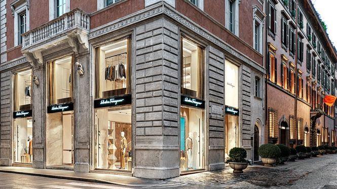 Salvatore Ferragamo reabre su tienda insignia de hombre en Roma