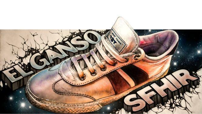 El artista urbano Sfhir colabora con la firma de zapatillas El Ganso