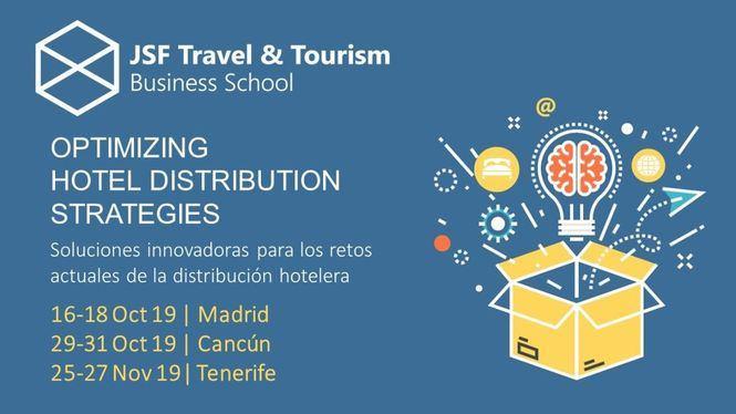 Tenerife, Madrid y Cancún sedes del programa internacional JSF Travel & Tourism
