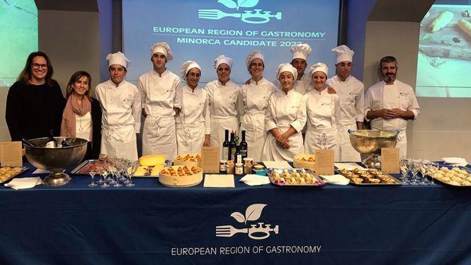 Menorca candidata a Región Gastronómica Europea 2022