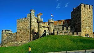 Castillo de los Templarios. Ponferrada