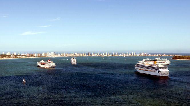 Uruguay epicentro de las escalas de cruceros por Sudamérica