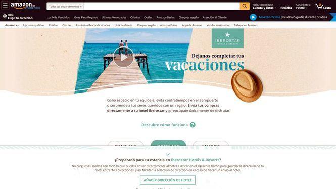 Acuerdo entre Iberostar y Amazon para que sus clientes reciban los pedidos en los hoteles