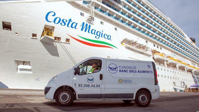 Costa Cruceros reduce en más de un 35% los excedentes alimentarios