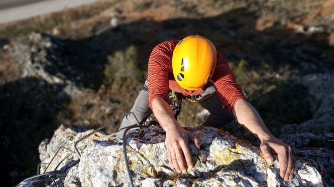 Nueva vía ferrata en la provincia de Burgos: Huerta del Rey