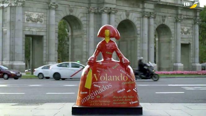 Iberia participa con dos Meninas en la Meninas Madrid Gallery