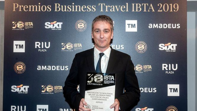 Aervio galardonada como Mejor Innovación Tecnológica en los Premios IBTA