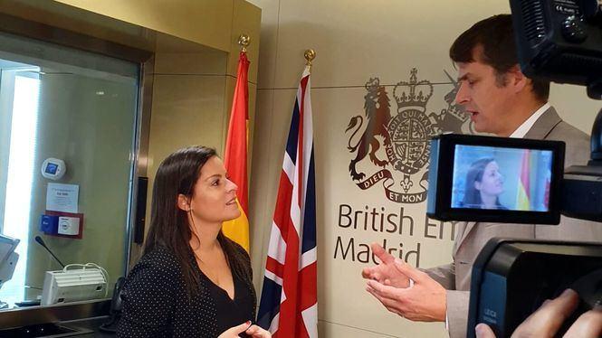 Yaiza Castilla y el embajador de Reino Unido en España tratan las previsiones del brexit en el turismo