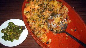 Sopas mallorquinas, un plato de cuchara que se come con tenedor