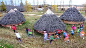 Jornada deportiva y visita a los yacimientos de la sierra de Atapuerca