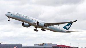 El A350-1000, buque insignia de Cathay Pacific, incluye piezas fabricadas en España