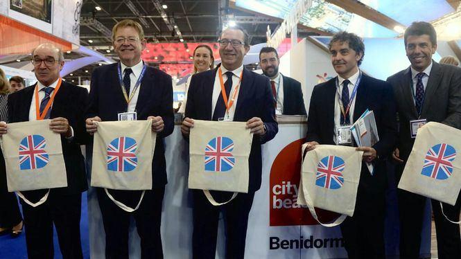 El presidente de la Diputación de Alicante en la World Travel Market de Londres