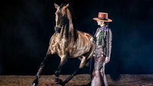 Clémence Faivre lleva su espectáculo a la pista central de IFEMA Madrid Horse Week