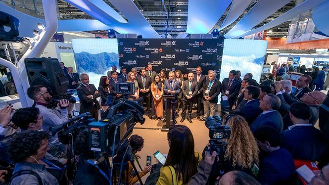 Turismo de Canarias premiada, por la campaña Not Winter Games, en la World Travel Market