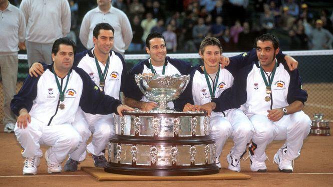 Una exposición sobre la historia de la Copa Davis recorre en Madrid