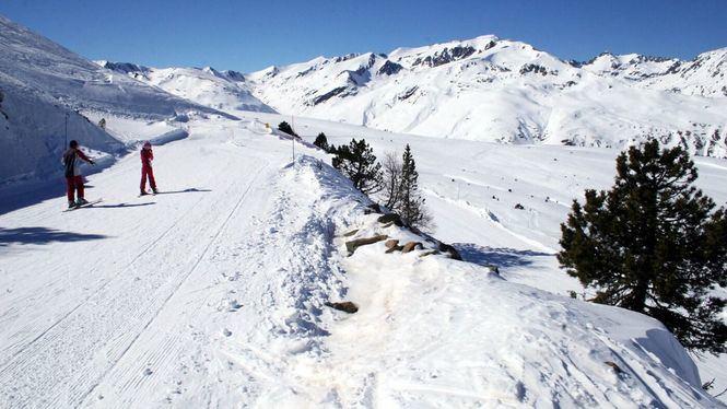 Porté-Puymorens la primera estación de nieve abierta del Pirineo francés