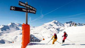 Tinges y Val d'Isère