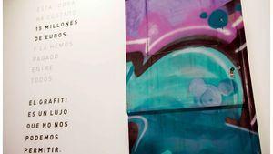 La obra más cara, exposición de Renfe para sensibilizar contra los grafitis en trenes