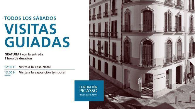Visitas guiadas los sábados en la Fundación Picasso Museo Casa Natal