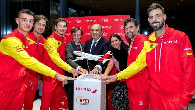 Iberia patrocinará a la Real Federación Española de Tenis