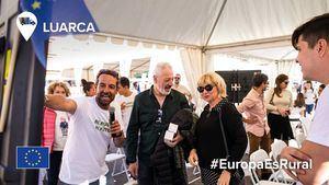 La campaña de la UE, Mi Pueblo, Mi Futuro, termina su gira en Luarca