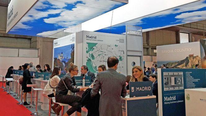 Turismo del Ayuntamiento de Madrid presente en la feria IBTM WORLD