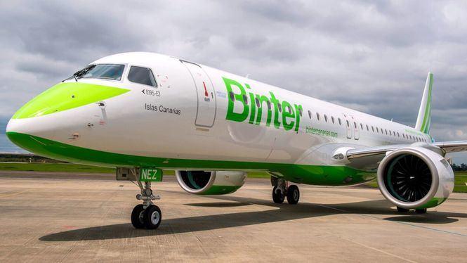 Binter y Embraer celebran la próxima entrega del primer avión reactor del modelo E195-E2