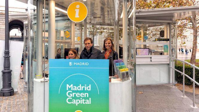 Un nuevo punto de información turística en el entorno del Palacio Real