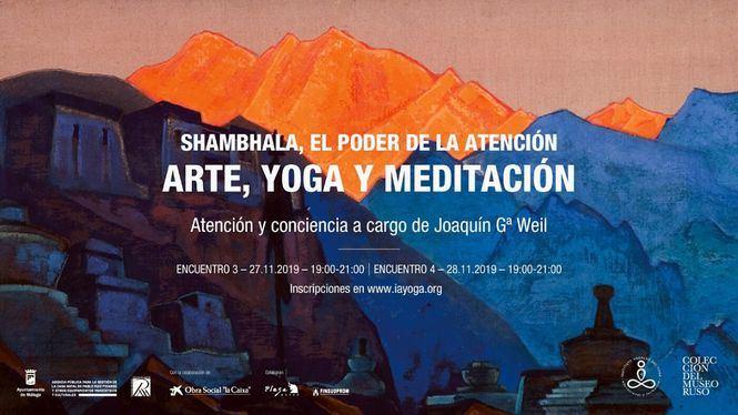 Sesiones que combinan arte, yoga y meditación en el Museo ruso de Málaga