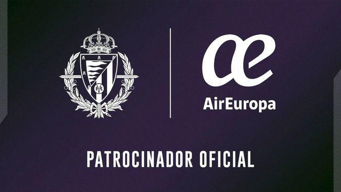 El Real Valladolid y Air Europa llegan a un acuerdo de patrocinio