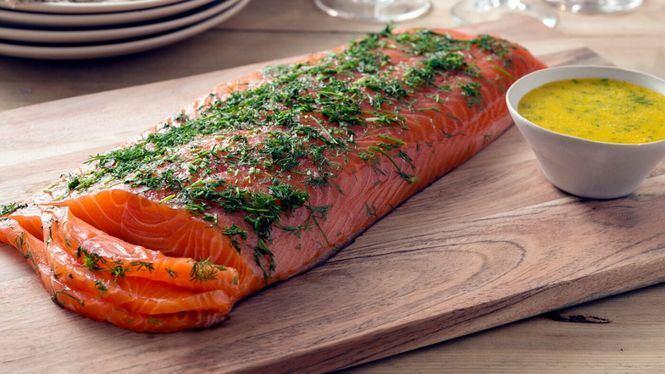 El salmón es el pescado protagonista de la Navidad de los españoles