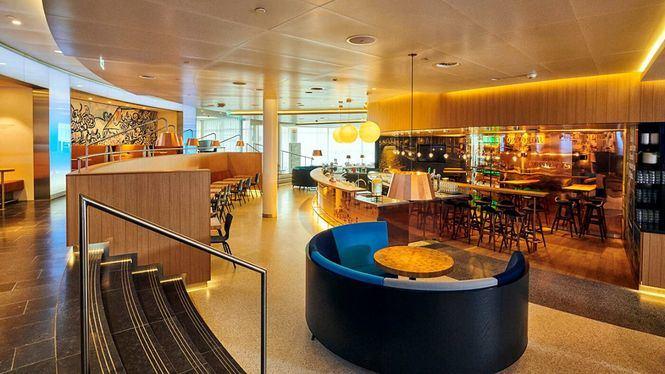 KLM renueva su Sala VIP Crown para pasajeros en el aeropuerto de Ámsterdam