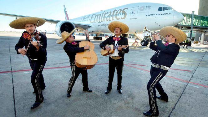 Nuevo servicio diario de Emirates entre Dubái y Ciudad de México vía Barcelona