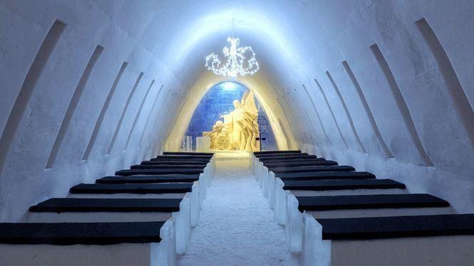 Iglús y hoteles de hielo para una escapada muy invernal