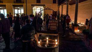 Celebración de Janucá en la Judería de Segovia